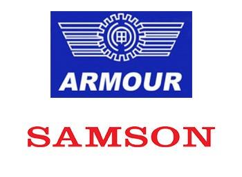 Логотипы Armour и Samson