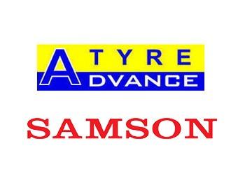 Логотипы advance и Samson