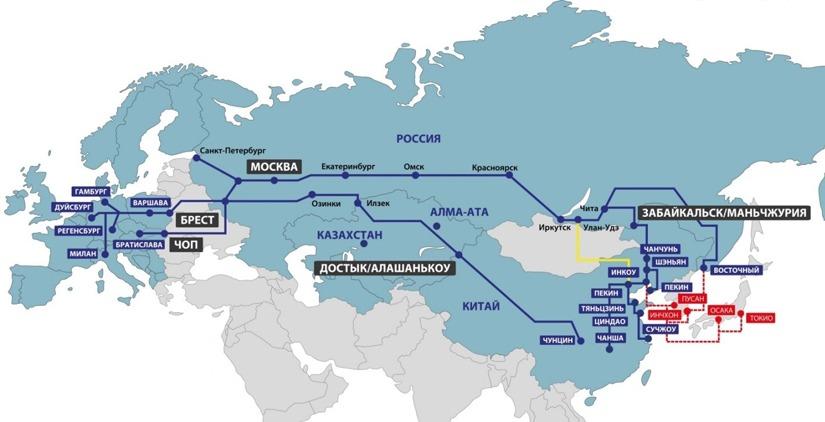 Схема доставки из Китая в Россию